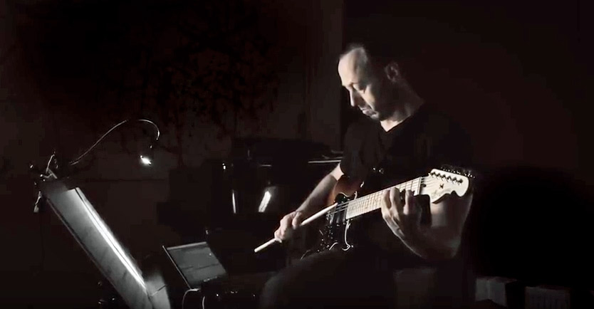 Video: Andreas Staffel: Kindled Spirit for E-Guitar