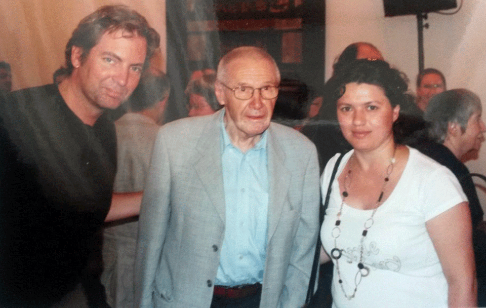 Great Hungarian Composer György Kurtág, with a German Composer Andreas Staffel and Azerbaijani Composer Khadija Zeynalova