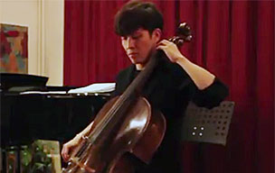 Woong Whee Moon Solorecital Violoncello at Musikstudio Ohrpheo